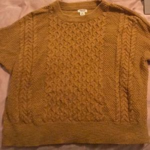 Mustard color sweater